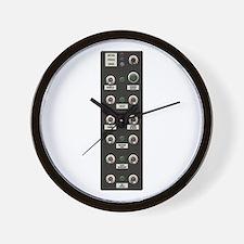 007 Controls Wall Clock