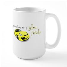 Yellow Porsche Mug