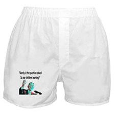 ...Is our children learning? Boxer Shorts
