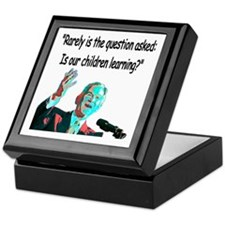 ...Is our children learning? Keepsake Box