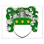 Van Koot Coat of Arms Small Poster