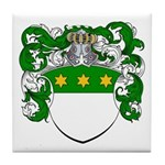 Van Koot Coat of Arms Tile Coaster