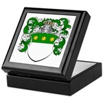 Van Koot Coat of Arms Keepsake Box