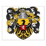 Van Laren Coat of Arms Small Poster