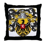 Van Laren Coat of Arms Throw Pillow