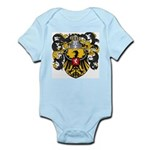 Van Laren Coat of Arms Infant Creeper