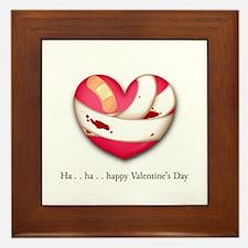 Stammering Valentine Framed Tile