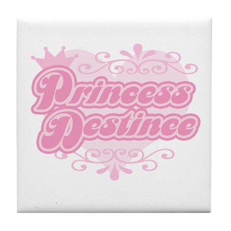 """Princess Destinee"" Tile Coaster"