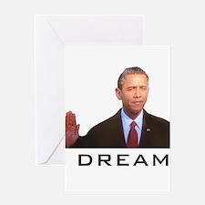 Obama Dream Greeting Card