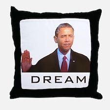 Obama Dream Throw Pillow
