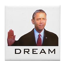 Obama Dream Tile Coaster