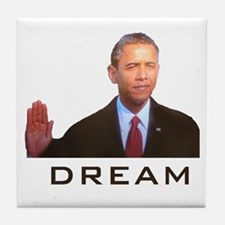 Obama Dream Tile Coaster