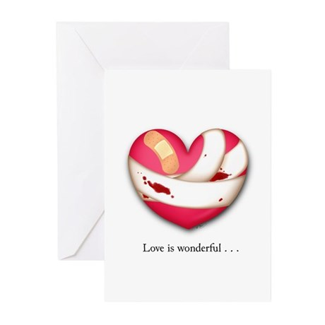 Love is Wonderful Greeting Cards (Pk of 20)