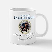 President Obama inauguration Small Small Mug