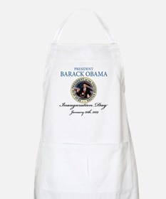 President Obama first black president BBQ Apron