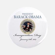 "President Obama first black president 3.5"" Button"