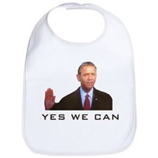 Obama Yes We Can Bib