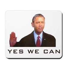Obama Yes We Can Mousepad
