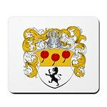 Van Lingen Coat of Arms Mousepad