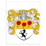 Van Lingen Coat of Arms Small Poster