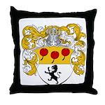 Van Lingen Coat of Arms Throw Pillow