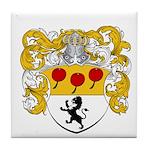 Van Lingen Coat of Arms Tile Coaster