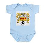 Van Lingen Coat of Arms Infant Creeper