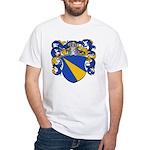 Van Loo Coat of Arms White T-Shirt