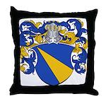 Van Loo Coat of Arms Throw Pillow