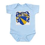 Van Loo Coat of Arms Infant Creeper