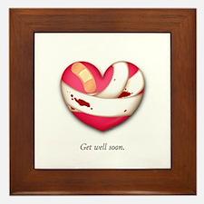 Get Well Soon Framed Tile