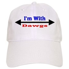 I'm With Dawgs Cap
