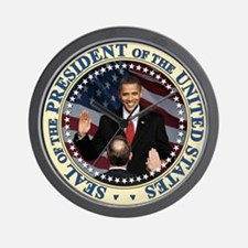 President Obama inauguration Wall Clock