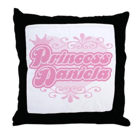 """""""Princess Daniela"""" Throw Pillow"""