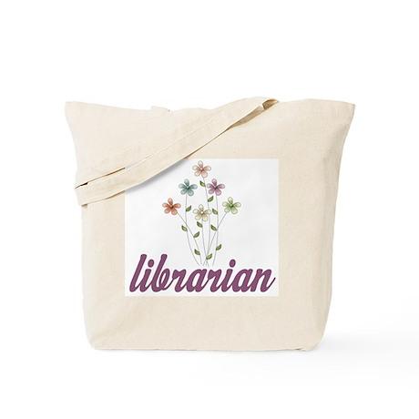 Pretty Librarian Tote Bag