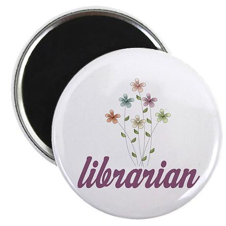 Pretty Librarian Magnet