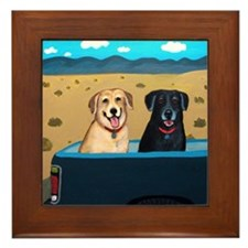 Traveling Labs Framed Tile