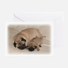 Cute Puggy Greeting Cards (Pk of 10)