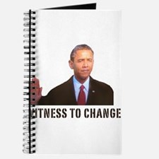 Obama Witness To Change Journal