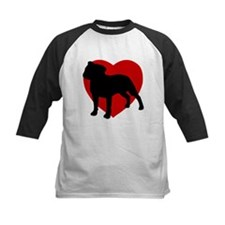 Staffordshire Bull Terrier Valentine's Day Tee