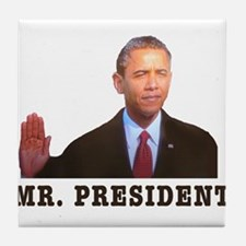 Mr. President Tile Coaster