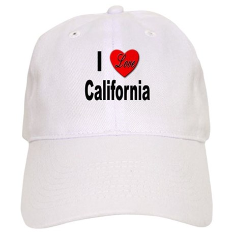 I Love California Cap