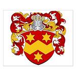 Van Naarden Coat of Arms Small Poster