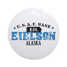Eielson Air Force Base Ornament (Round)