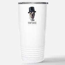 Top Dog Stainless Steel Travel Mug