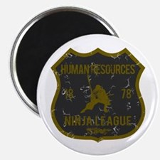 Human Resources Ninja League Magnet
