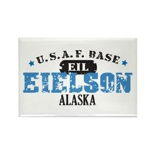Eielson Air Force Base Rectangle Magnet (100 pack)