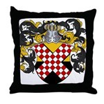 Van Nes Coat of Arms Throw Pillow