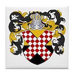 Van Nes Coat of Arms Tile Coaster