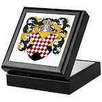 Van Nes Coat of Arms Keepsake Box